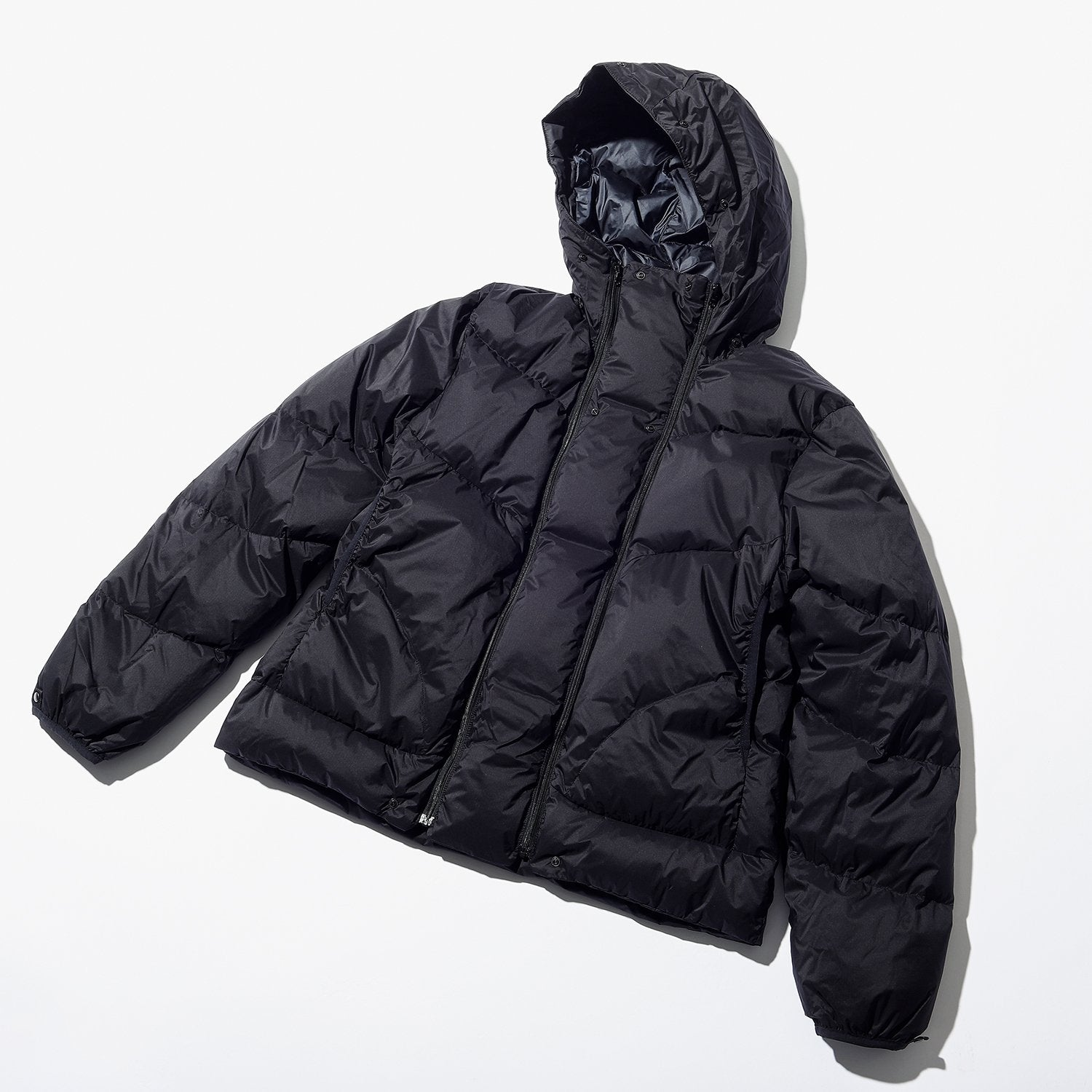 4-WAY HOODED DOWN COAT