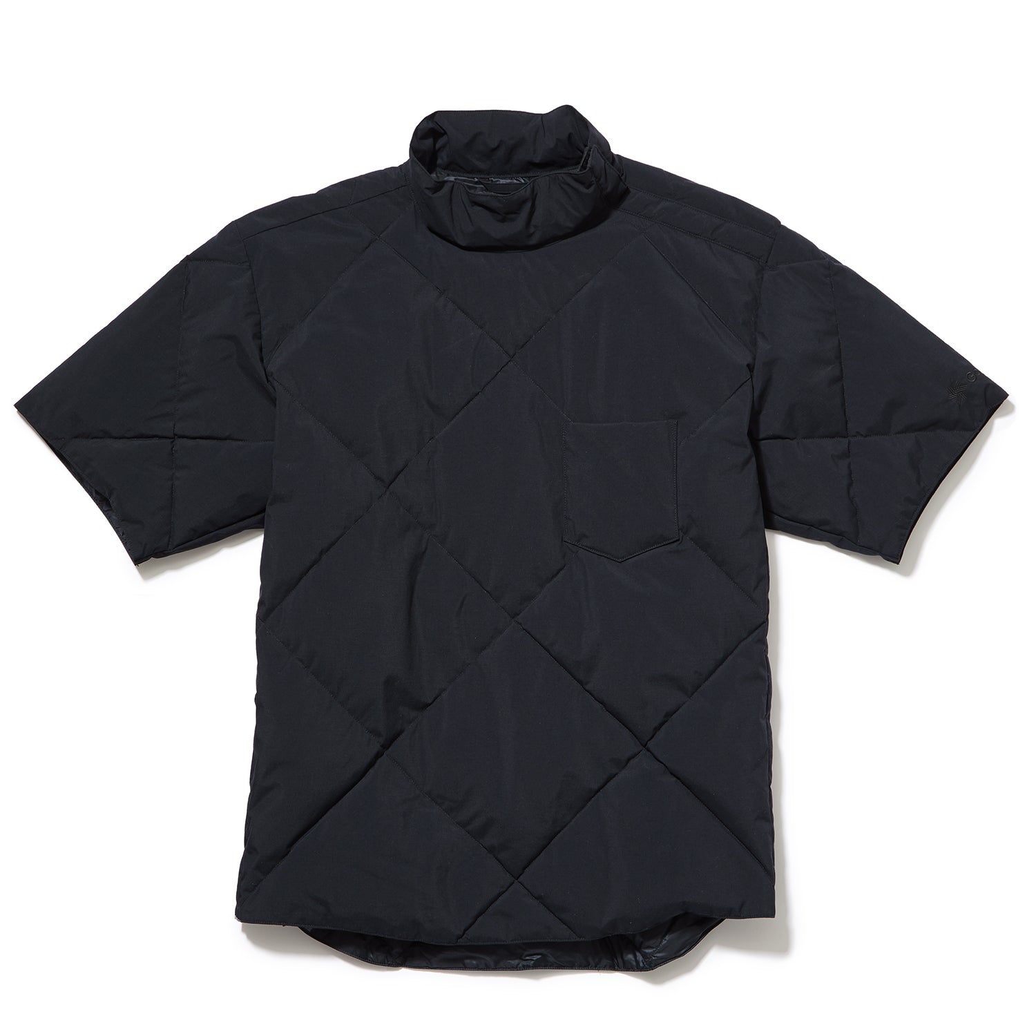 SNOW DWELLERS DOWN H/S PULLOVER BLACK
