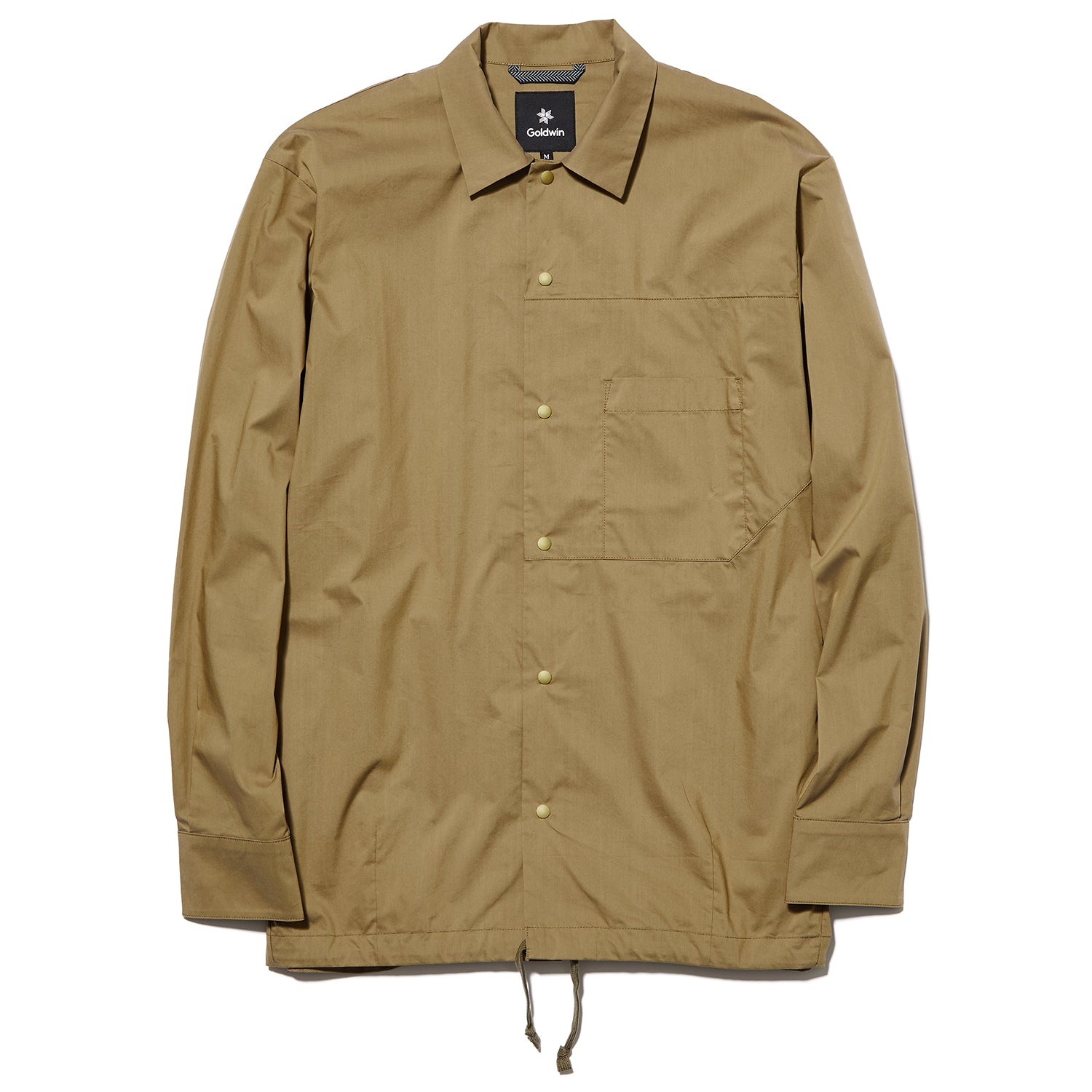 COACH JACKET SHIRT COYOTE
