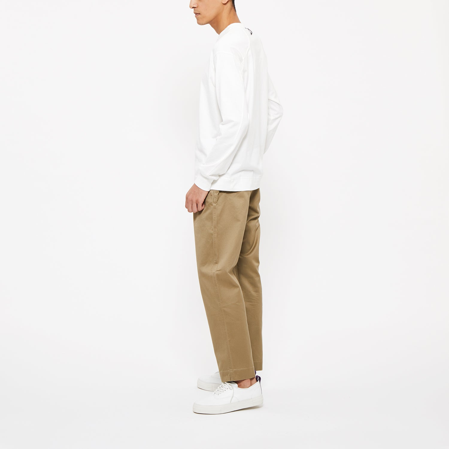 Wide Chino Pants
