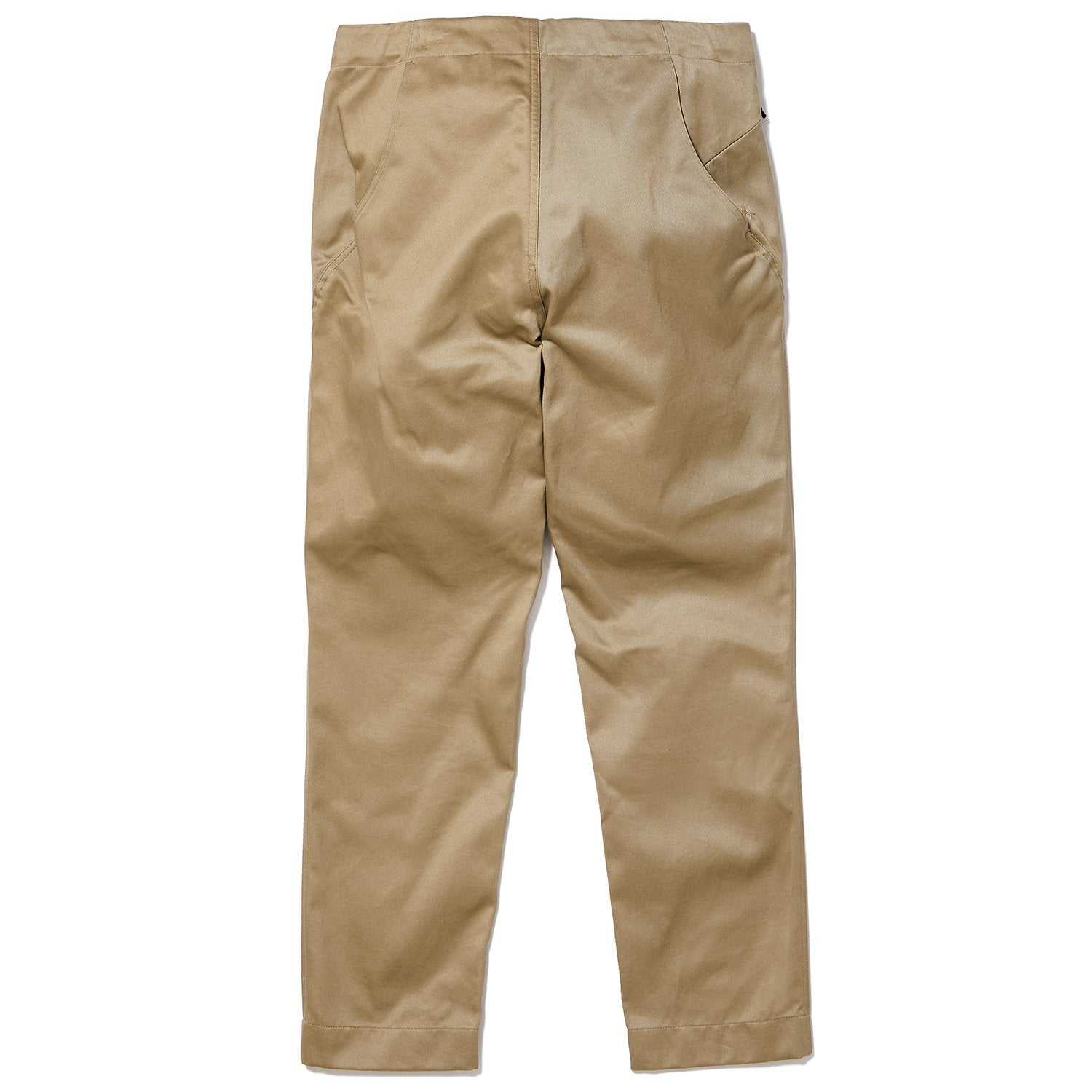 REGULAR CHINO TROUSERS OLIVE GREEN