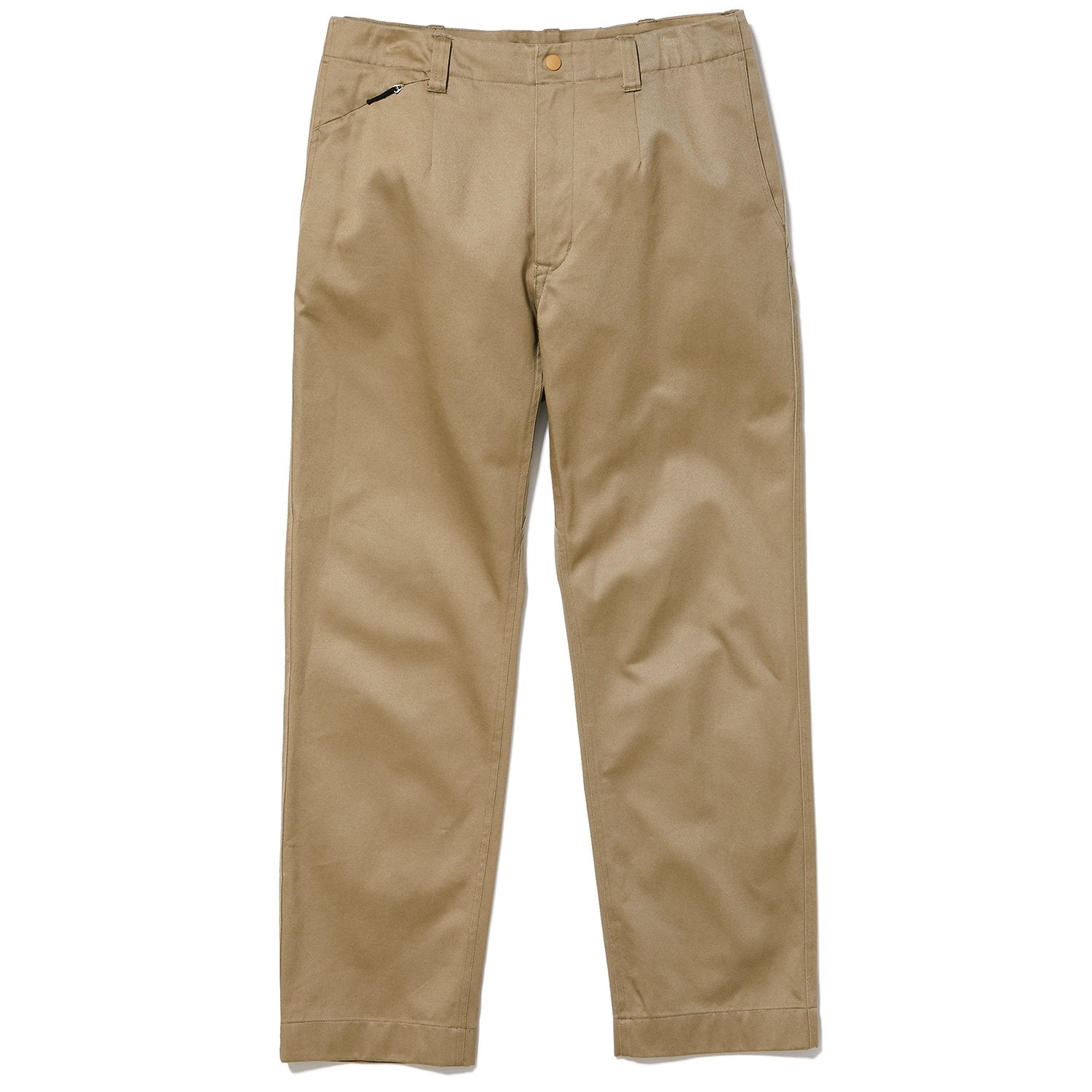 WIDE CHINO TROUSERS BEIGE