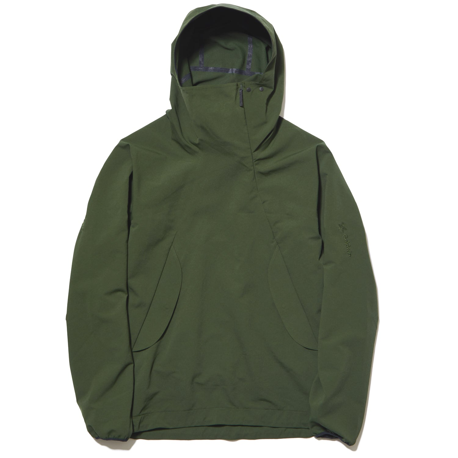 HOODED SPUR LIGHT PULLOVER CYPRESS GREEN