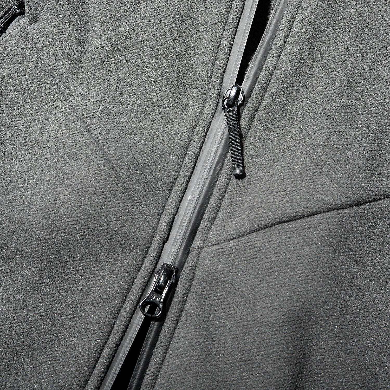 TRAVELER ZIP HOODIE MEDIUM GRAY