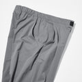 1 TUCK TAPERED STRETCH TROUSERS
