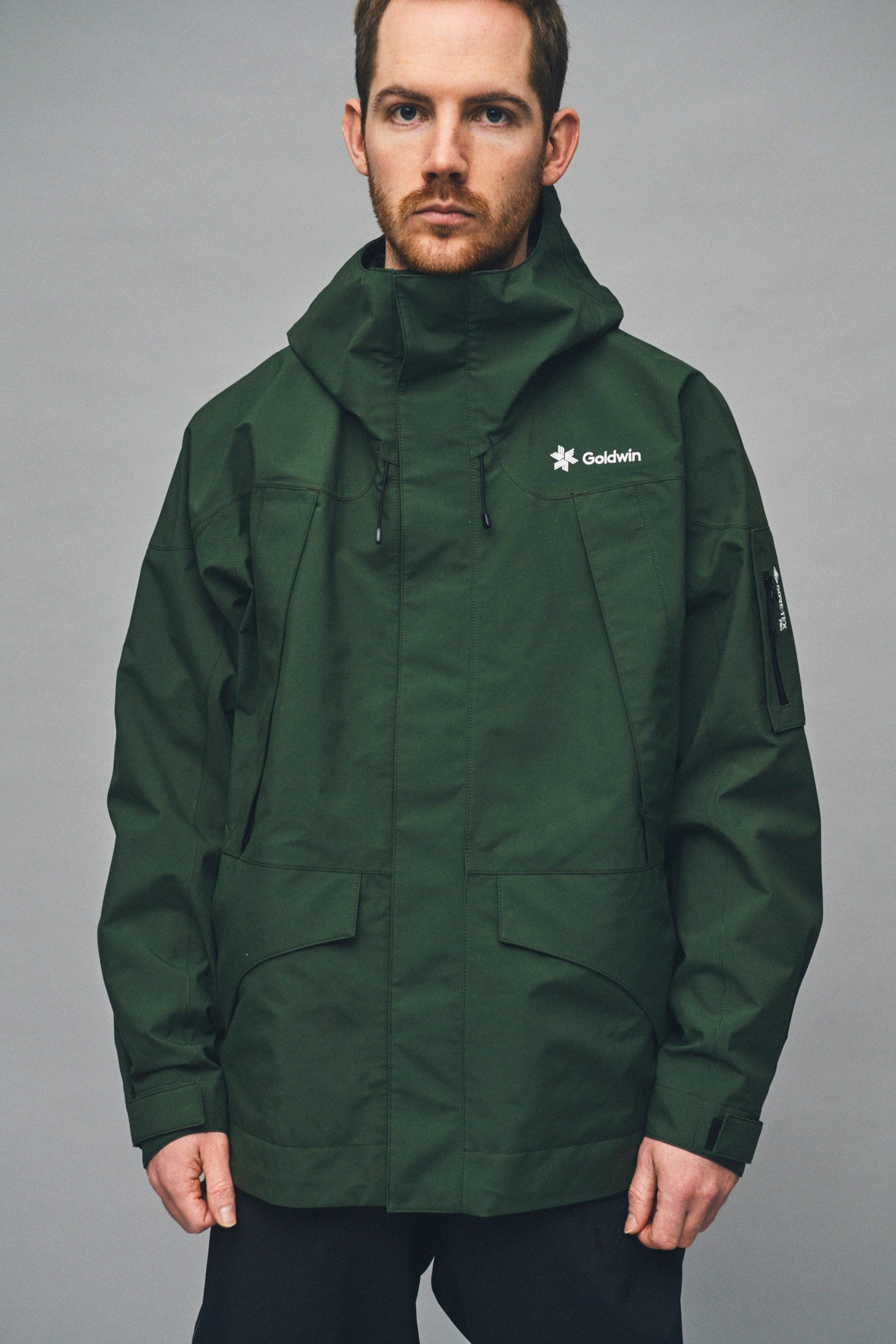 GORE-TEX SNOW DWELLERS JACKET CYPRESS GREEN