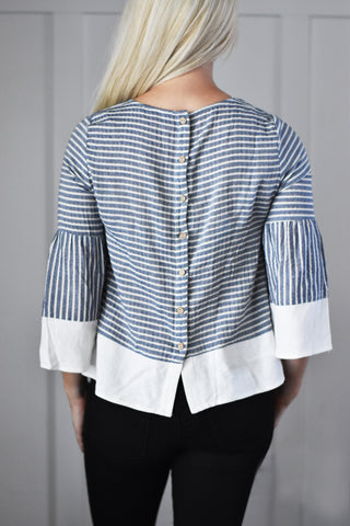 The Blue Belle Top