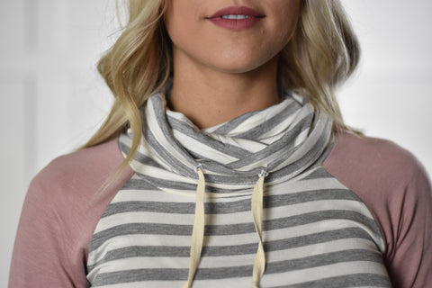 Charlotte Cowl Neck Top