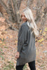 Gray Batwing Sweater