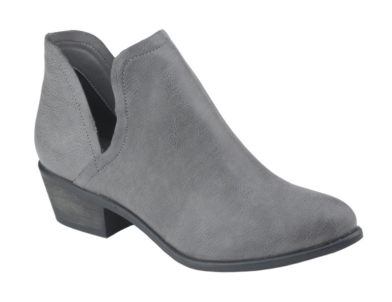 Grey Days Booties