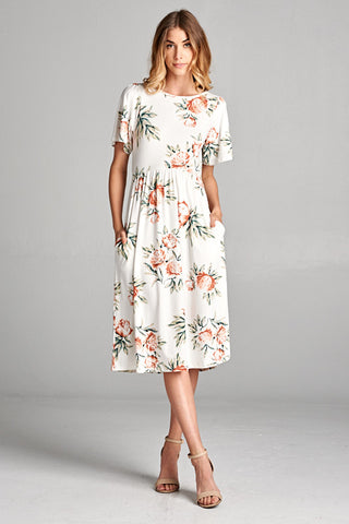 The Classic Floral Dress