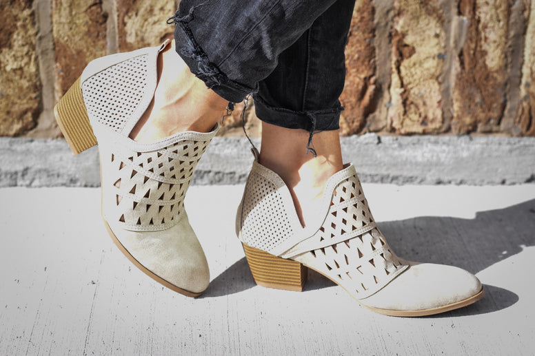 The Cutout Bootie