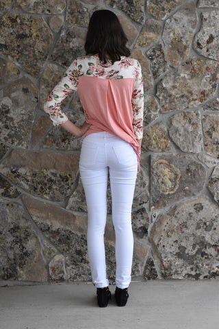 Smooth Walker White Skinny Jeans