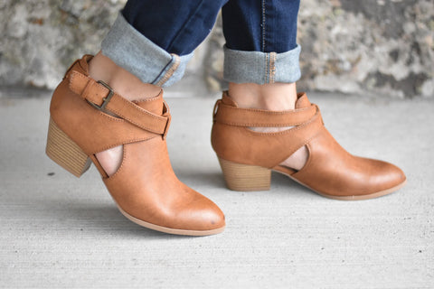 The Cognac Booties