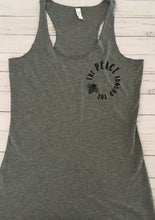 🐝 The Peace Around You | Women's Triblend Racerback Tank