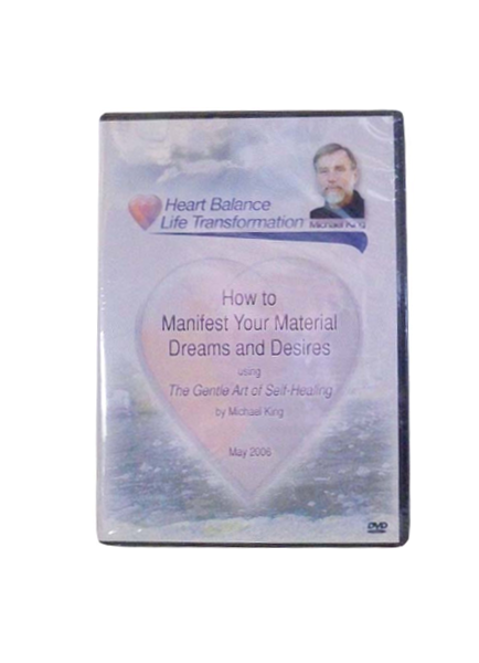How to Manifest Material Dreams and Desires - DVD