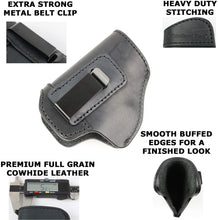 The Protector Leather Iwb Holster Extra Strong Metal Belt Clip