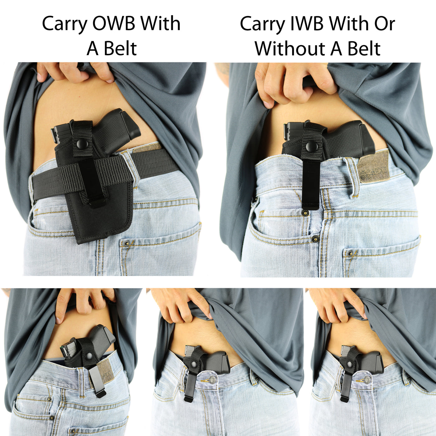 The Ultimate Concealed Carry Holster Size 3