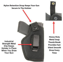The Ultimate Concealed Carry Holster With Nylon Retention Strap