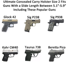 The Ultimate Concealed Carry With Slide Length