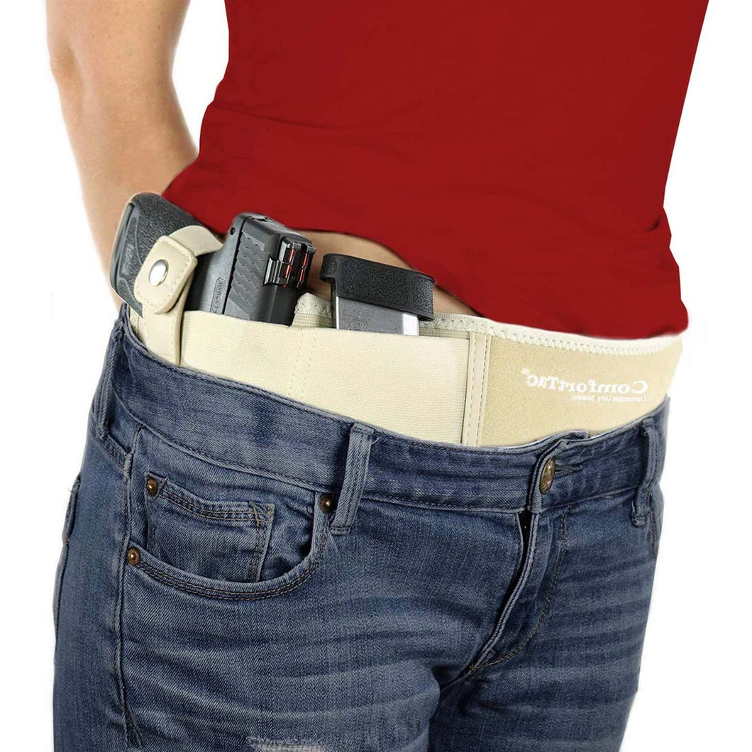 Ultimate Belly Band Holster - Deep Concealment Edition - Nude