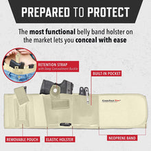Ultimate Belly Band Holster With Removable Pouch