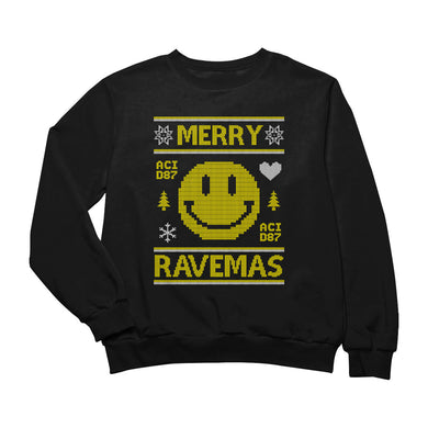 Merry Ravemas I Ugly Christmas Sweater