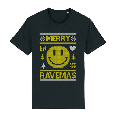 Merry Ravemas I Ugly Christmas Men's T-Shirt
