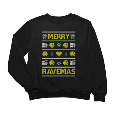 Merry Ravemas II Ugly Christmas Sweater