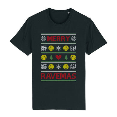 Merry Ravemas III Ugly Christmas Men's T-Shirt