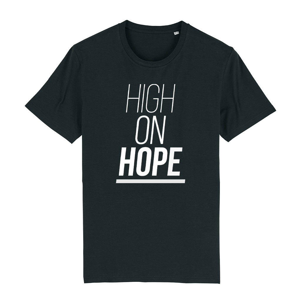 High On Hope Unisex Organic T-Shirt