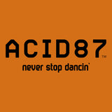 Acid87 Never Stop Dancing Black Logo Unisex Sweatshirt