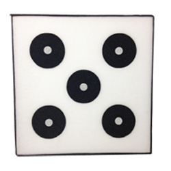 "Ethanfoam Targets - 2 Lb Density (36"" x 36"" x 4"" - 5 Core)"