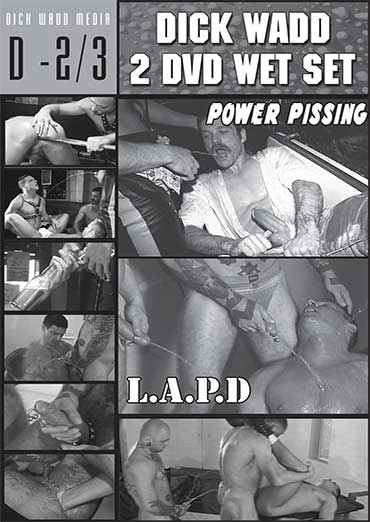L.A.P.D. and Power Pissing 2 DVD box set  D-2 D-3