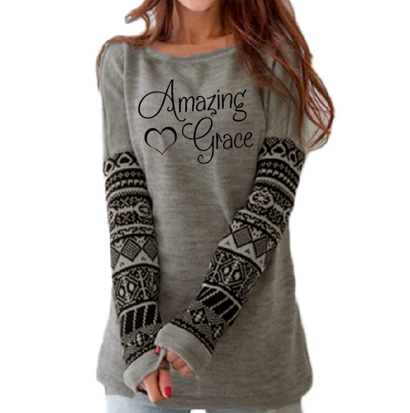 Amazing Grace Long Sleeve Tee