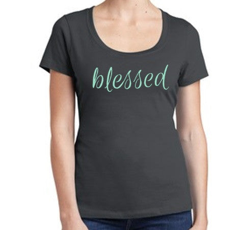 Blessed Grey Tee and/or Tank