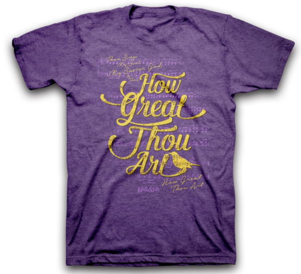 How Great Thou Art T-Shirt