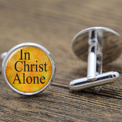 In Christ Alone Cufflinks