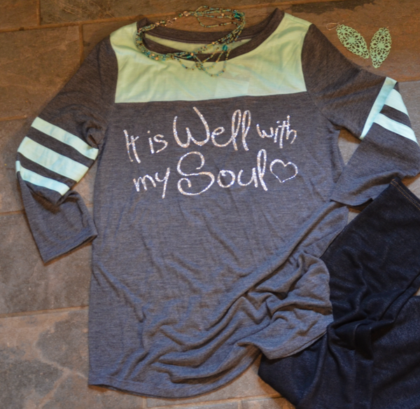 It is Well with my Soul - 3/4 Length Sleeves