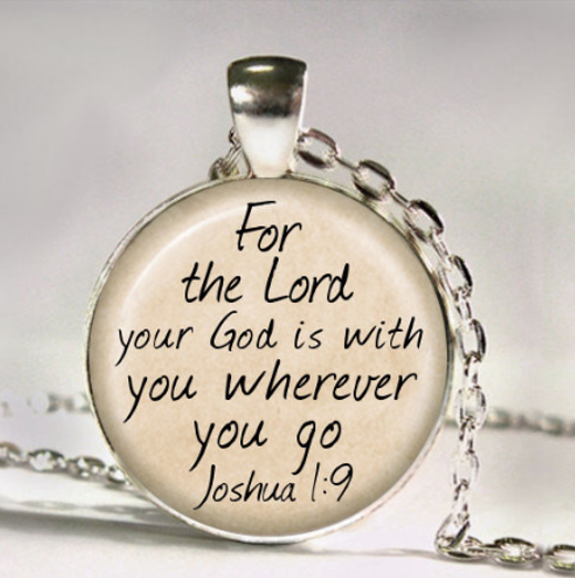 THE LORD IS WITH YOU Necklace