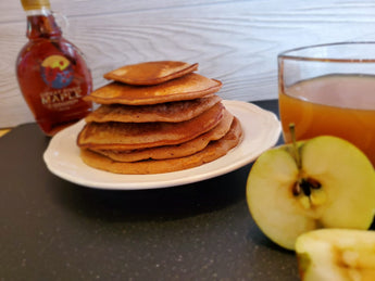 Maple Apple Cider Pancakes