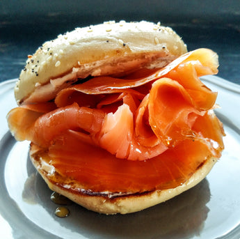 Maple Bourbon Bagel & Lox