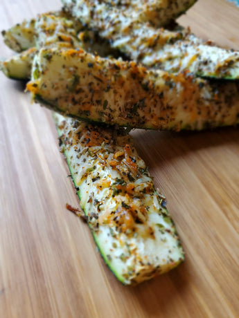 Cheese & Herb Zucchini Sticks