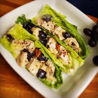 Maple Chicken Salad Wrap