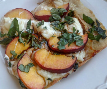 Maple Peach Pizza