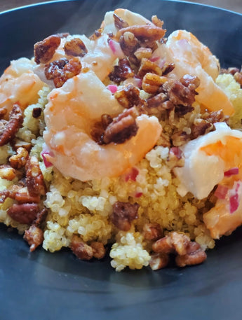 Maple Shrimp and Pecans