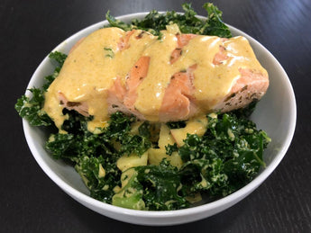 Salmon & Kale Salad