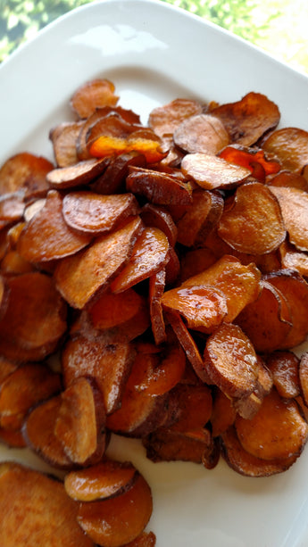 Maple Sweet Potato Chips