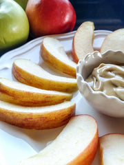 Apples and Maple Cream