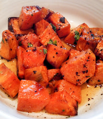 Bourbon Sweet Potatos